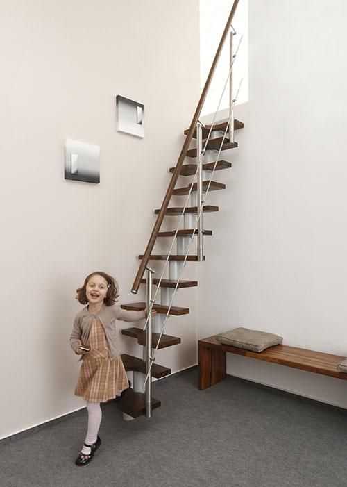 Wechseltritt-Treppe